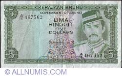 Imaginea #1 a 5 Ringgit 1983