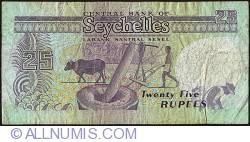 Imaginea #2 a 25 Rupees ND (1989)