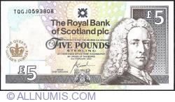 Imaginea #1 a 5 Pounds 2002 (6. II.) - Jubileul de aur al Reginei Elisabeta a II-a