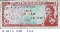 Image #1 of 1 Dolar ND (1965) - D