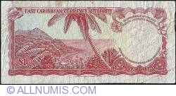 Image #2 of 1 Dolar ND (1965) - D
