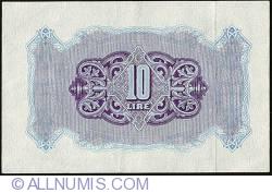 Imaginea #2 a 10 Lire ND (1943)