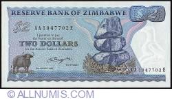 Imaginea #1 a 2 Dollars 1980