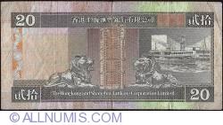 Image #2 of 20 Dollars 1993 (1. I.)