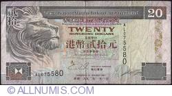 Image #1 of 20 Dollars 1993 (1. I.)