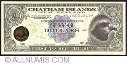 Image #1 of 2 Dollars (200 Cents) 1999 A