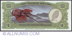 Image #2 of 2 Dollars (200 Cents) 1999 A