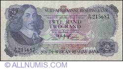 Imaginea #1 a 2 Rand ND (1974) sign T. W. de Jongh - Afrikaans on Top type.