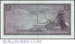 Imaginea #2 a 5 Rand ND (1967-1975) sign T. W. de Jongh - Afrikaans on Top type.