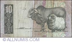 Imaginea #2 a 10 Rand ND (1981) - sign G. P. C. de Kock