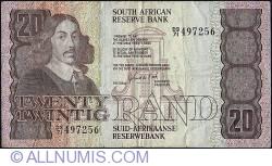 Imaginea #1 a 20 Rand ND (1981) - sign G. P. C. de Kock