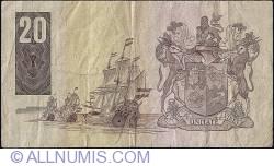 Imaginea #2 a 20 Rand ND (1981) - sign G. P. C. de Kock