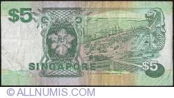 Imaginea #2 a 5 Dolari ND (1989)