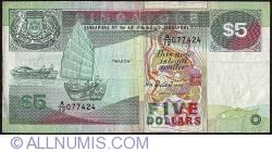 Imaginea #1 a 5 Dolari ND (1989)