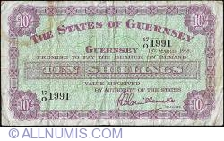Image #1 of 10 Shillings 1965