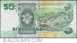 Image #2 of 5 Dollars ND (1997)